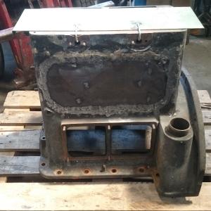 Reparatie gietijzeren motor